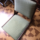 maruni 木製折りたたみ座椅子 汚れあり