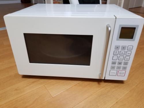 【中古】無印良品M-E10Cオーブンレンジホワイトキッチン家電電子レンジ・