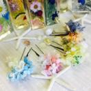 浴衣に合う✨髪飾り作り体験教室