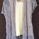夏 さらっと羽織れるカーディガン グレー 新品
