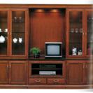 値下げしました!マルニ家具製地中海シリーズ飾棚とテレビボード