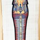 エジプト土産のツタンカーメンの絵◆神々しい美しさ