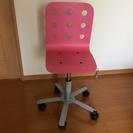 【中古】IKEAの学習机イス