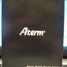 モバイルルーター NEC製 ATERM MR03LN 黒