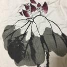 上品な水墨画柄のロングスカート(値下がり中)