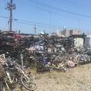 【千葉県中心】中古自転車 買取 ボロボロ 部品足りず 大量 不法投...