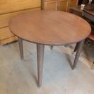 貞苅椅子製作所 丸 ダイニングテーブル 中古品 円卓