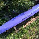 アクアミューズ141 セーリングカヌー 使用少ない美艇!セールそ...