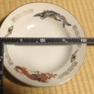 中華柄のお皿(浅型) 12枚