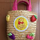 くまのプーさん、ミニミニ籠バッグ(^^)