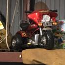 子供用バイク 充電器はありません ハーレー系(笑)