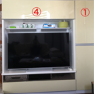 壁面収納テレビボード