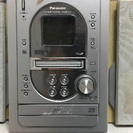 パナソニック MD・CD ラジカセ ラジオ 重低音