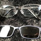 JINS偏向メガネ、サングラス