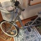最終値下げ シルバー 三輪自転車 新古車
