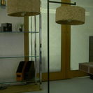 シェード付き照明器具、中古品