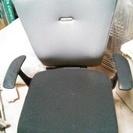 肘付き 事務椅子