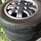 155/65/13 タイヤ、アルミセット、  PCD110