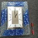 ガラスの時計 アンティーク