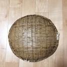 中古 丸い竹ザル (直径35cm)