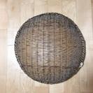 中古 丸い竹ザル (直径50cm)