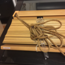 木製ニチベイブラインド未使用品