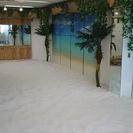 フラ・ヨガ教室開催などにビーチスタジオはいかがですか?