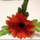 新品ハンドメイド花飾りUピン
