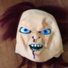 チャッキー、お面、マスク、パーティー、ハロウィン、学園祭