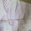 上質な夏の着物。正絹。163x67cm。中古、刺繡。いま2000円!