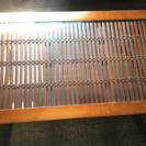 バンブー ガラステーブル