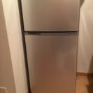 一人暮らし用冷蔵庫(2段)の画像