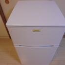 【取引終了】ノンフロン冷凍冷蔵庫 96L 2012年製 - 家電