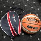 バスケットボール6号とボールケース
