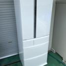 洗浄済 パナソニック トップユニット冷蔵庫 フレンチドア 451L