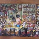 ディズニー ミッキーマウス 大型パズル1000ピース おもちゃの...