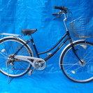 ギア付オートライトのママチャリ 中古自転車 108
