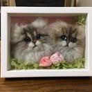 人気!!羊毛フェルトの猫顔作りワークショップ