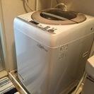 シャープ製洗濯機 ES-GV90P-N の画像