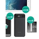 新品Bluetoothヘッドホン&大容量モバイルバッテリー 即決!! - 家電