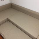 イケア(IKEA)のコーナーソファベッド(FRIHETEN)を無料...