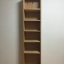 無印良品 本棚 組み合わせて使える木製収納の画像
