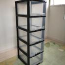 【取引中】収納 5段クリアボックス