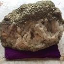【希望金額提示】天然石水晶&パイライト パワーストーン