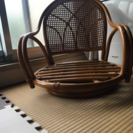 木の椅子(座布団無し)