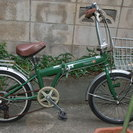 20インチ中古折りたたみ自転車 さしあげます。