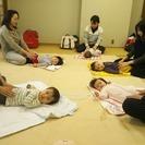 赤ちゃんアート付きベビーマッサージ!堺市鳳アカデミー!
