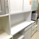 2面 食器棚 レンジボード カップボード 糸島 唐津 福岡