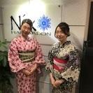 『隅田川花火大会』 本日空きございます!ヘアセット&浴衣着付け♪