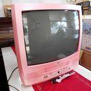 テレビデオ SUEDE 可愛いピンク色
